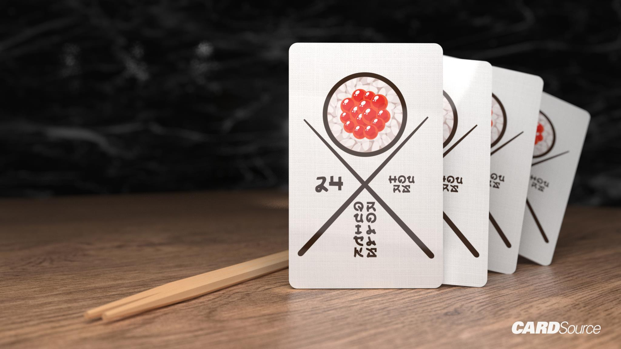 Sushi Card Design, CardSource
