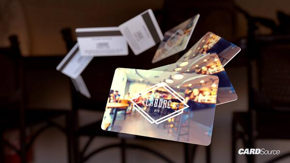 labore NYC gift card, cardsource
