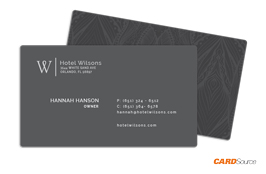 BusinessCard BC352 Hotel Wilsons by CARDSource