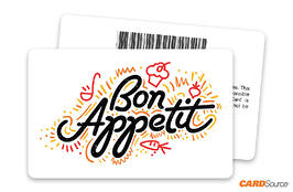 Bon Appetit Barcode Gift Card by CARDSource