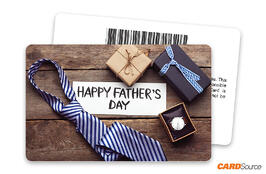Fathers Day Barcode Gift Card