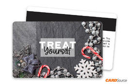 Holiday Treat Yourself Magnetic Stripe Gift Card by CARDSource