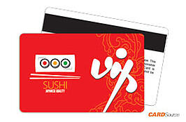 Membership Card - Sushi by CARDSource