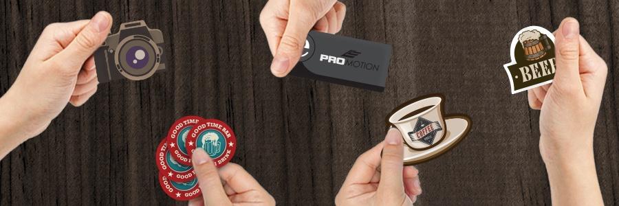 Custom Shape Plastic Business Cards