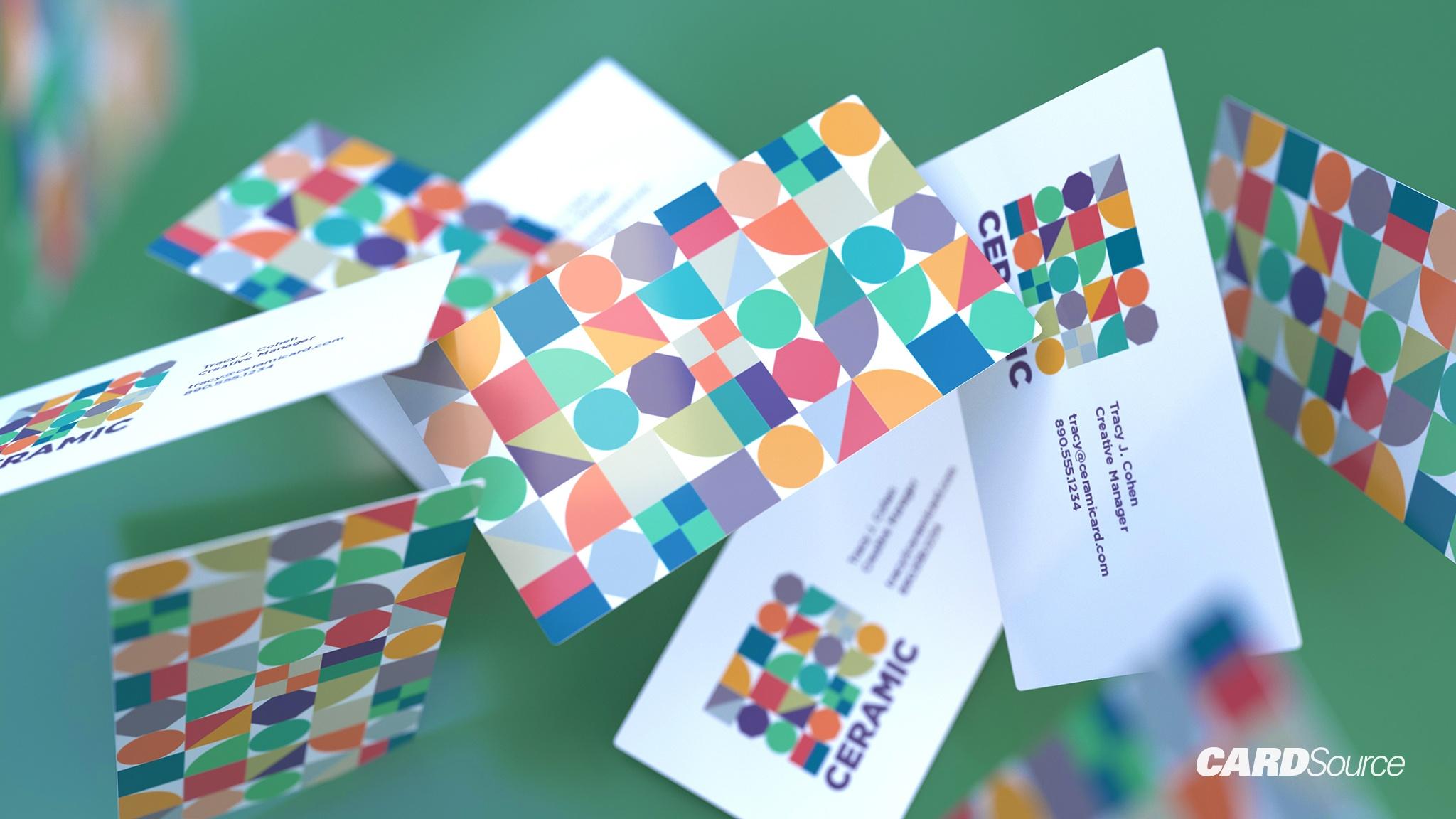 Ceramic Business card Cardsource Design