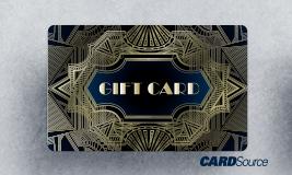 Custom Plastic Card, abstract gift card