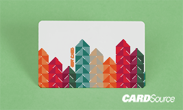 colored arrow gift card