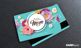 Mothers day gift card