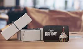 birthday gallery size