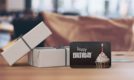 birthday gallery size