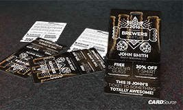brewer badge and event pass