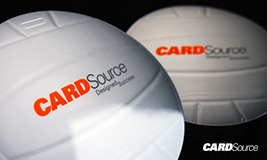 Volleyball shape Cardsource