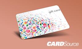 dot gift card design, CardSource