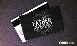 the best father in the whole world gift card design