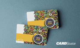 Custom Plastic Gift Card, hotel design