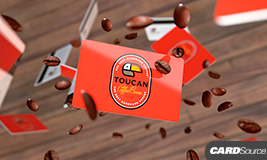 Toucan Coffee gift card Cardsouce