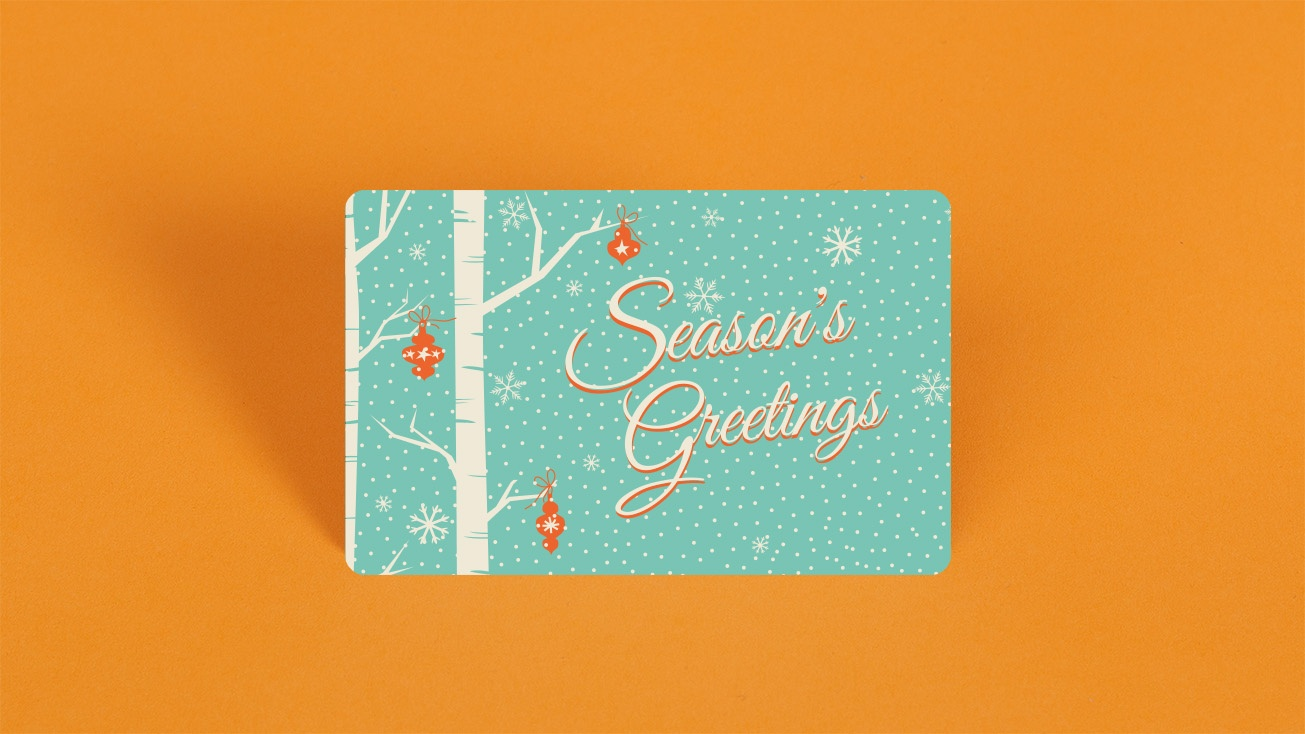 Season Greetings off colors