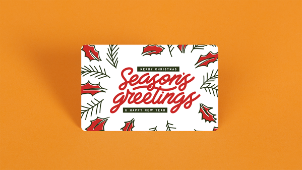 seasons greetings gc red