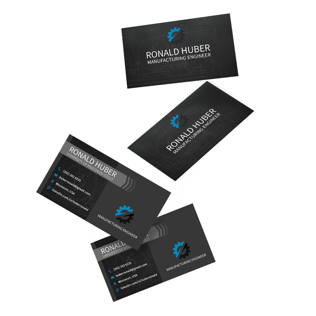 Manufacturing Engineering Business Card