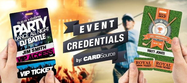 Cool New Event Credentials