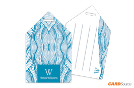 Luggage Tag TAG1007 Hotel Willsons by CARDSource