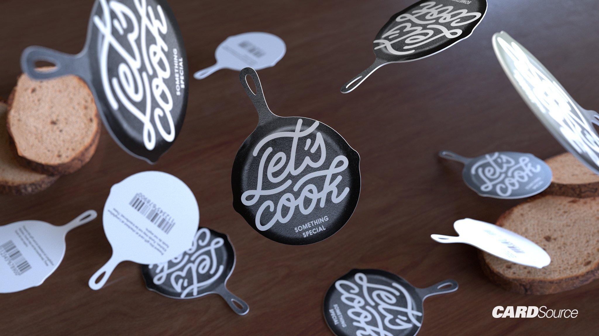 custom plastic card shape, pan, cardsource