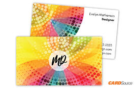 BC352 Colorful Abstract Business Cards by CARDSource