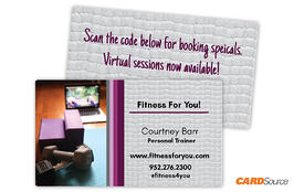 BC352 Fitness Business Cards by CARDSource