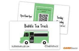 BC352 Food Truck Business Cards by CARDSource