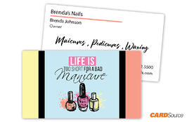 BC352_Manicure Business Cards by CARDSource